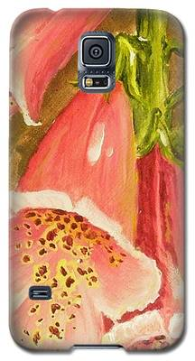 Foxy Foxglove Of Williamsburg Galaxy S5 Case