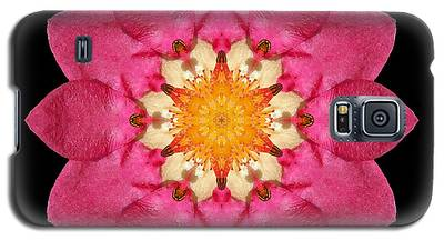 Fragaria Flower Mandala Galaxy S5 Case