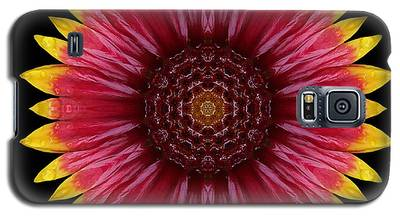 Galliardia Arizona Sun Flower Mandala Galaxy S5 Case