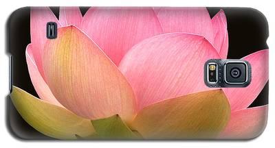 Glowing Lotus Square Frame Galaxy S5 Case
