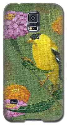 Goldfinch Garden Galaxy S5 Case