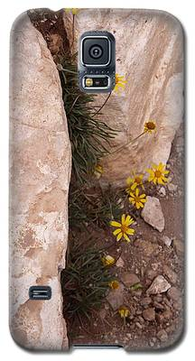 Grand Canyon Flowers Galaxy S5 Case