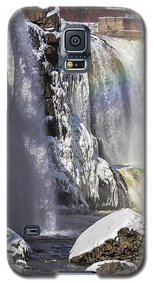 Great Falls And A Rainbow Galaxy S5 Case