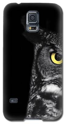 Owl Galaxy S5 Cases