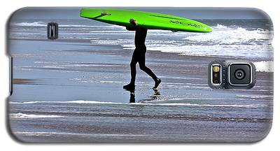 Green Surfboard Galaxy S5 Case