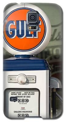 Gulf Oil Gas Pump Galaxy S5 Case