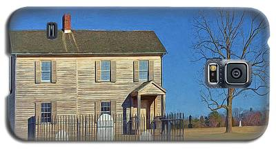 Henry House In Winter / Manassas National Battlefield Galaxy S5 Case