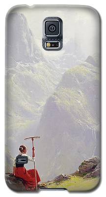 High In The Mountains Galaxy S5 Case