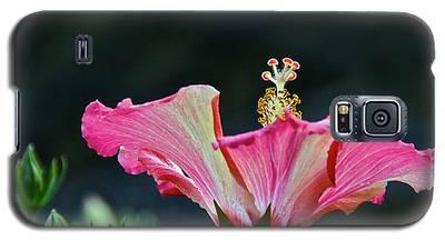 High Speed Hibiscus Flower Galaxy S5 Case