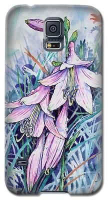 Hosta's In Bloom Galaxy S5 Case