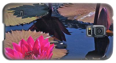 Hot Pink Tropicals Galaxy S5 Case