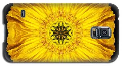 Iceland Poppy Flower Mandala Galaxy S5 Case
