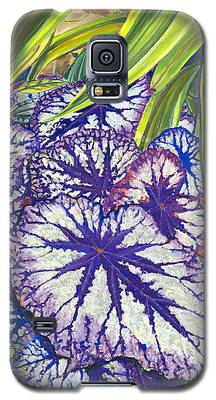 In The Conservatory-7th Center-violet Galaxy S5 Case