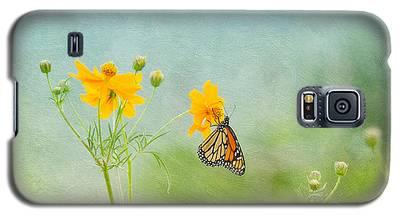 In The Garden - Monarch Butterfly Galaxy S5 Case