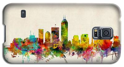 Indianapolis Indiana Skyline Galaxy S5 Case