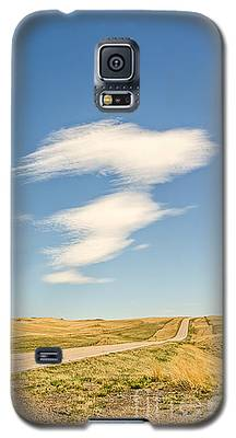 Interesting Clouds In Big Sky Country Galaxy S5 Case