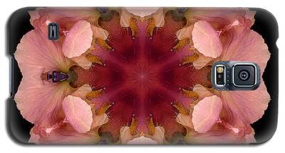 Iris Germanica Flower Mandala Galaxy S5 Case
