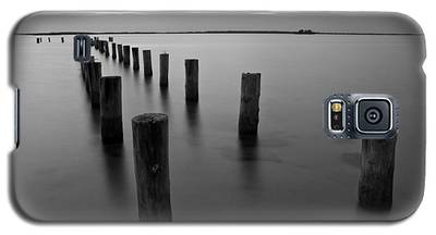 Jetty At Sunset Galaxy S5 Case