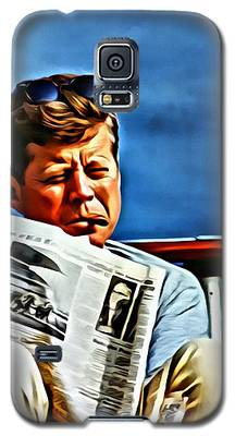 John F Kennedy Galaxy S5 Case