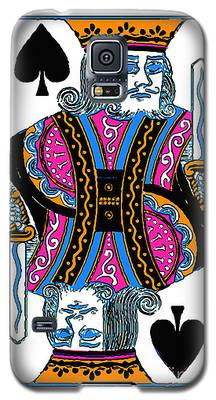 King Of Spades - V3 Galaxy S5 Case