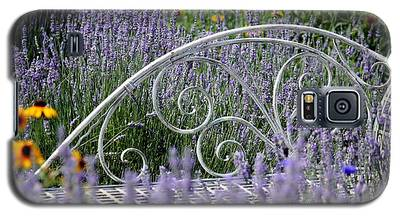 Lavender With Scrolled Settee Galaxy S5 Case