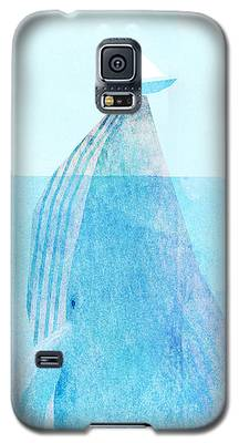 Whale Galaxy S5 Cases