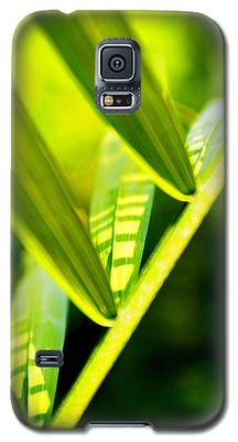 Light On Leaves Galaxy S5 Case