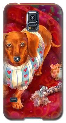 Little Dogs - Dachshund Galaxy S5 Case
