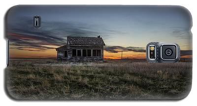 Prairie Sunset Galaxy S5 Cases