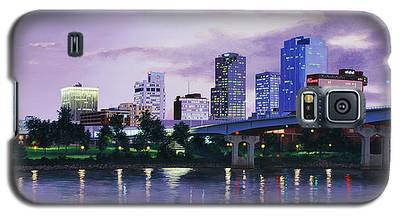 Little Rock Skyline Galaxy S5 Case