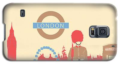 London Galaxy S5 Cases