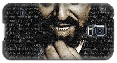 Luciano Pavarotti Galaxy S5 Case