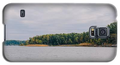 Men Fishing On Barren River Lake Galaxy S5 Case