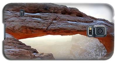Mesa Arch Looking North Galaxy S5 Case