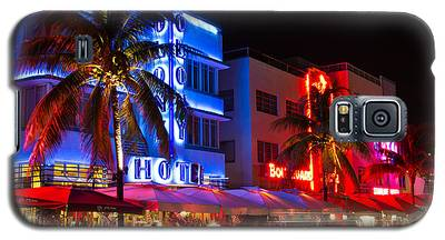 Miami Beach Ocean Drive Galaxy S5 Case