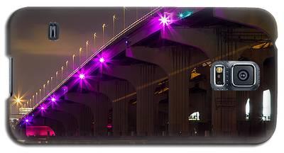 Miami Macarthur Causeway Bridge Galaxy S5 Case