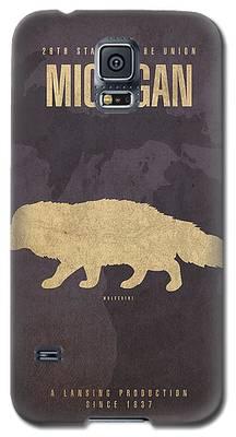 Michigan State Galaxy S5 Cases