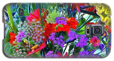 Mid August Bouquet Galaxy S5 Case