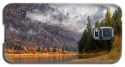 Misty Montana Morning Galaxy S5 Case