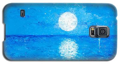 Moon And Stars Galaxy S5 Case