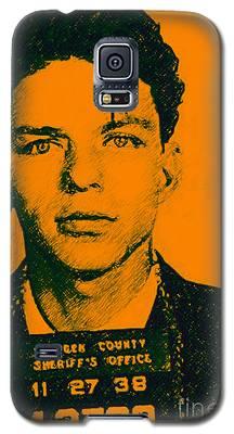 Mugshot Frank Sinatra V1 Galaxy S5 Case