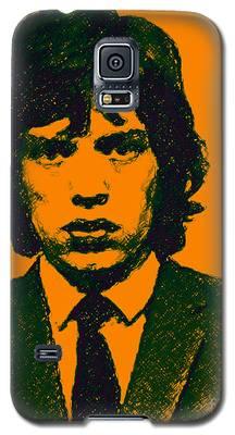 Mugshot Mick Jagger P0 Galaxy S5 Case