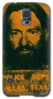Mugshot Willie Nelson P0 Galaxy S5 Case
