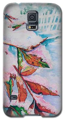 Nandina In Snow Galaxy S5 Case