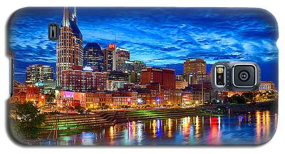 Nashville Skyline Galaxy S5 Cases
