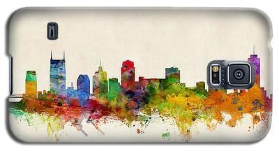 Nashville Skyline Galaxy S5 Cases