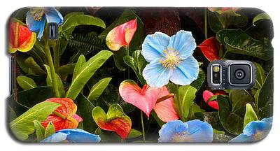 New World And Old World Exotic Flowers Galaxy S5 Case