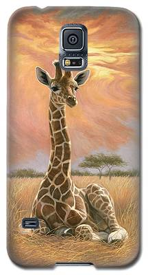 Newborn Giraffe Galaxy S5 Case