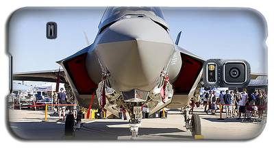 Nose To Nose With An F-35 Galaxy S5 Case