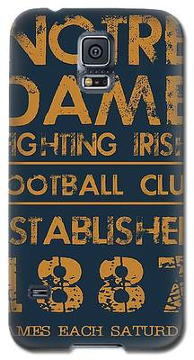 Notre Dame Galaxy S5 Cases
